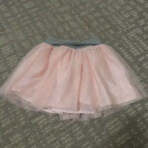 Toddler girls gap tulle skirt 3T